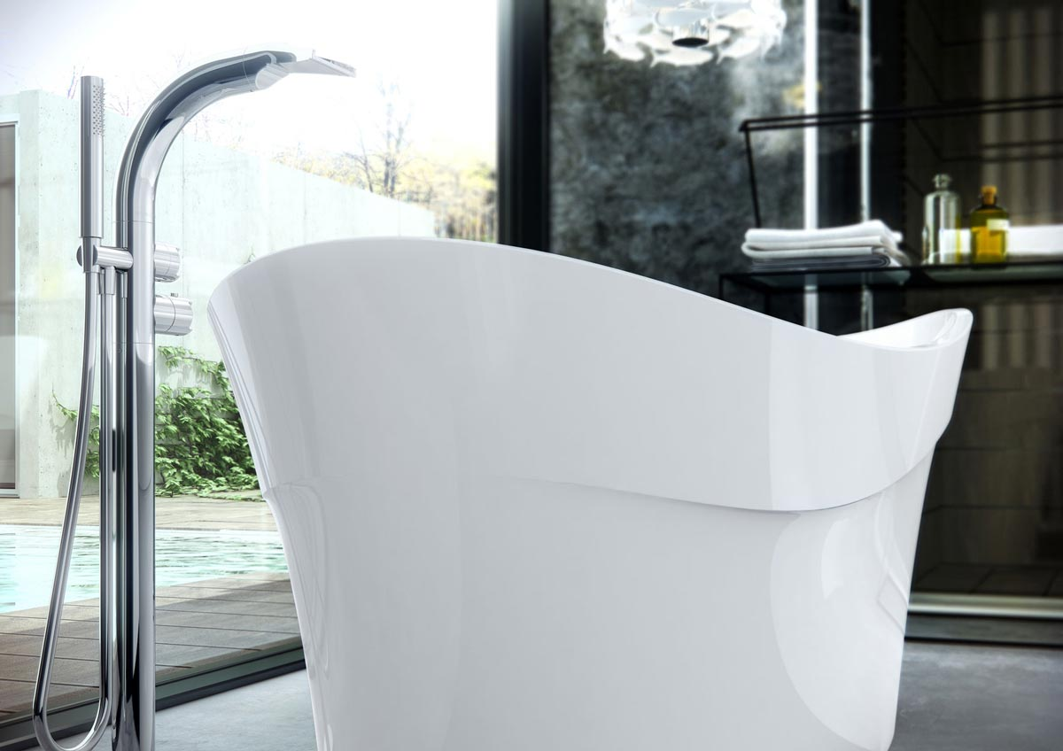 Vasca Da Bagno Materiale : Vasche da bagno in materiali ceramici archiproducts