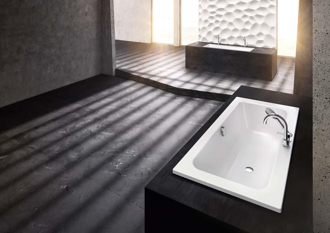 Vasca Da Bagno Kaldewei : Vasca puro set wide elevato comfort e perfetta libertà di movimento