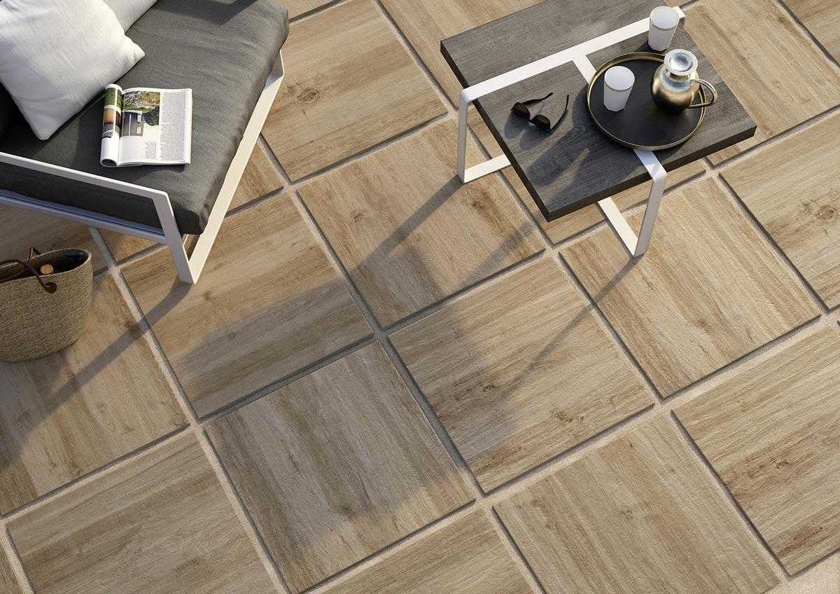 Treverkhome il pavimento da esterno spessorato