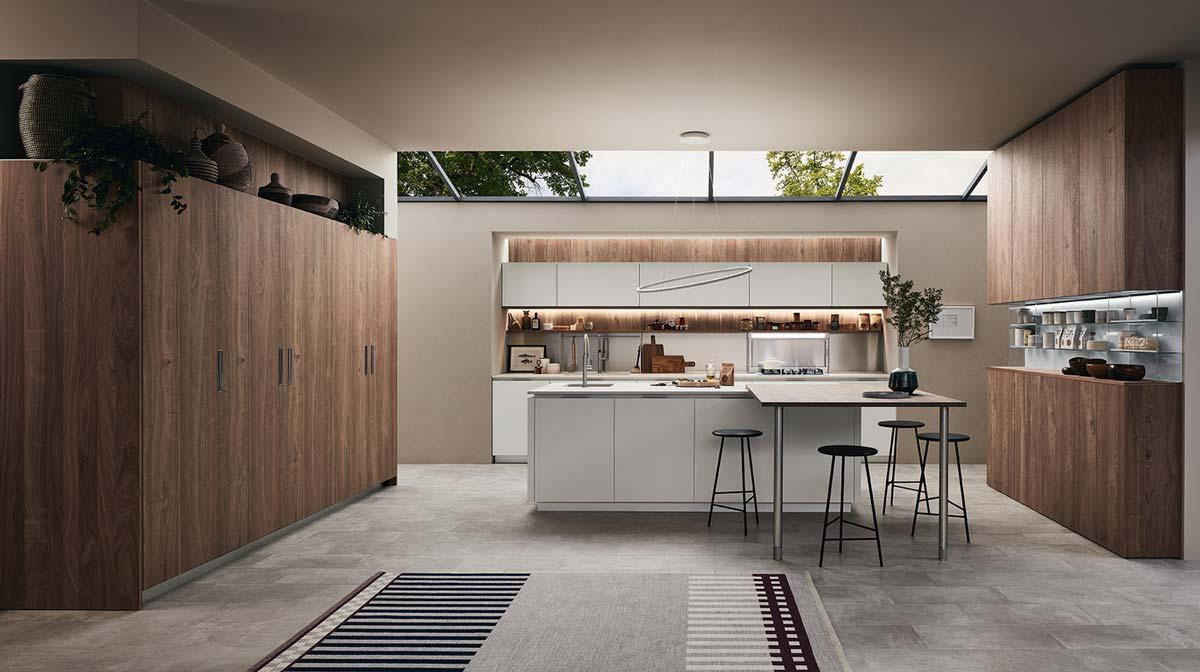 Lounge l innovativo sistema cucina - Veneta cucine modena ...