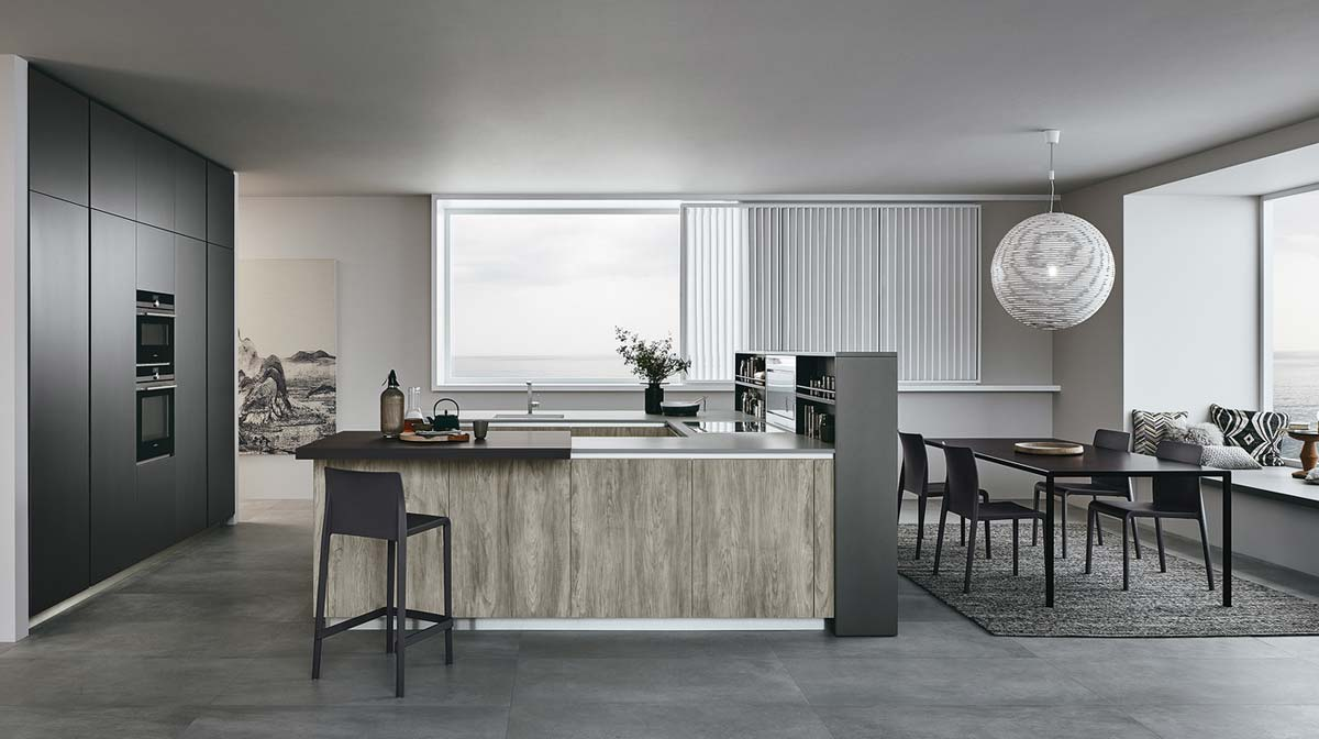 Lounge l innovativo sistema cucina - Veneta cucine lounge ...