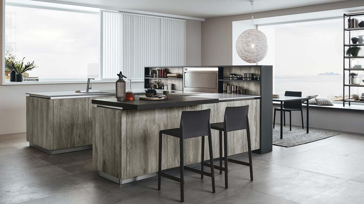 Lounge, l\'innovativo sistema cucina