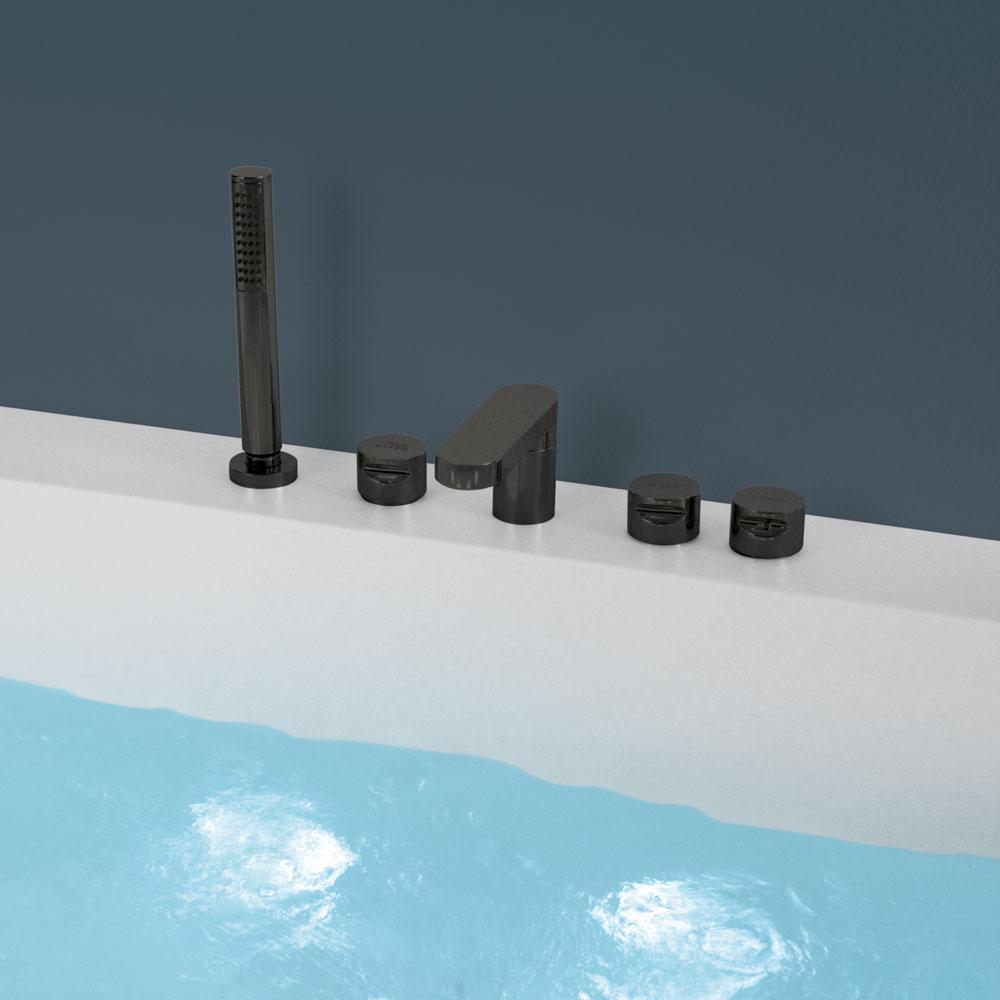 Hafro Vasca Rio dettaglio rubinetteria bordo vasca